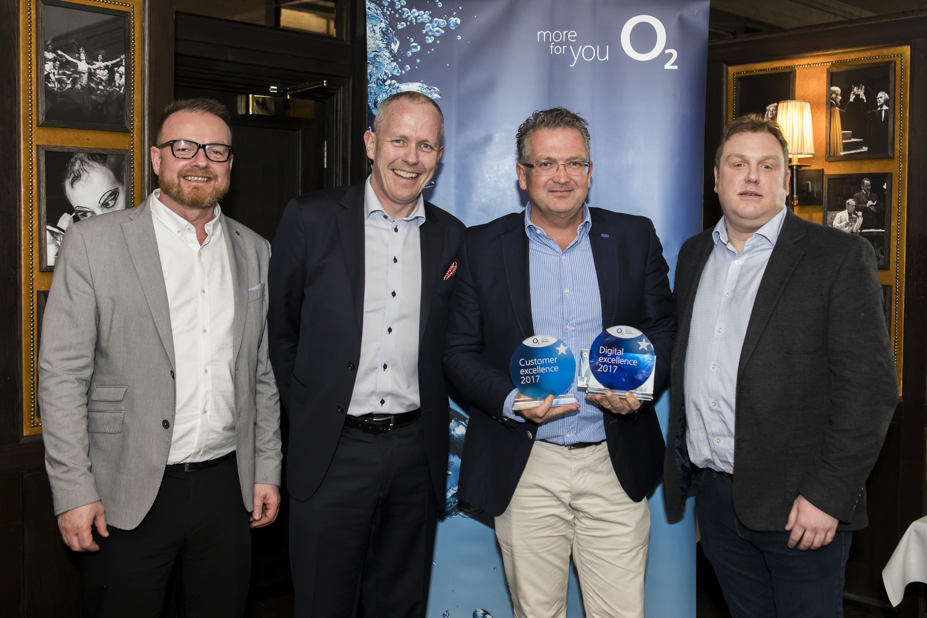 O2 Digital and Customer Excellence Award 2017