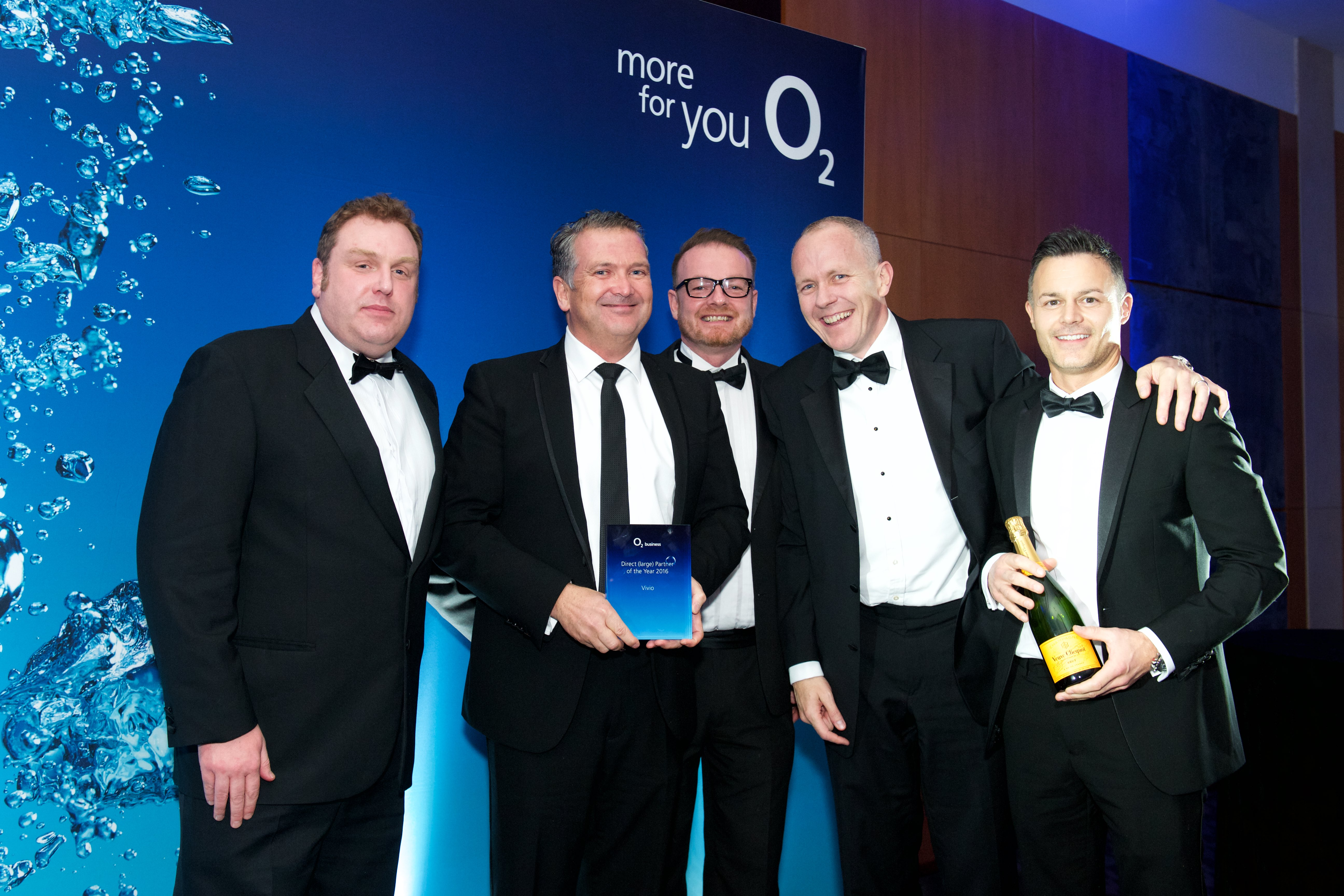 Pinned Story - Vivio awarded O2 Partner of the Year 2016/17 for the second year running!